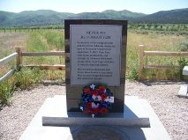 New Monument at Mountain Meadows